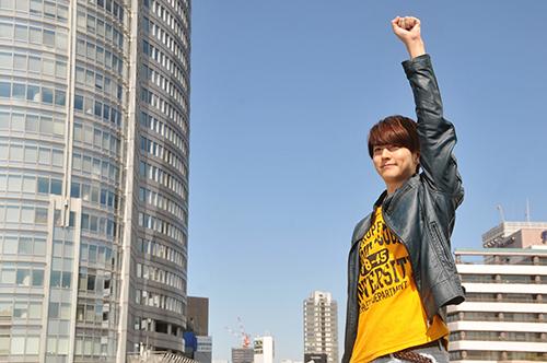 NY Max Man Film Casts Kamen Rider Drive's Yu Inaba