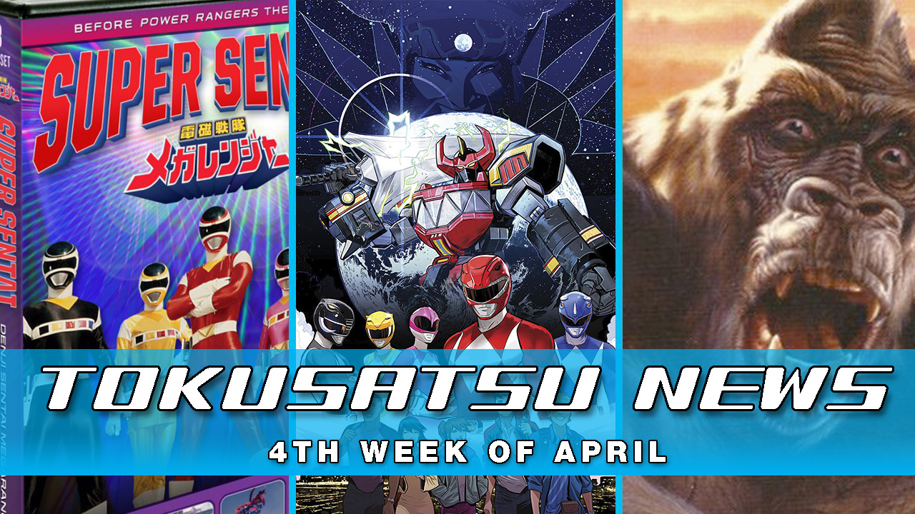 Kong Series? + New Power Rangers Comic + Kaiju Workshop – The Tokusatsu Network Weekly News Roundup