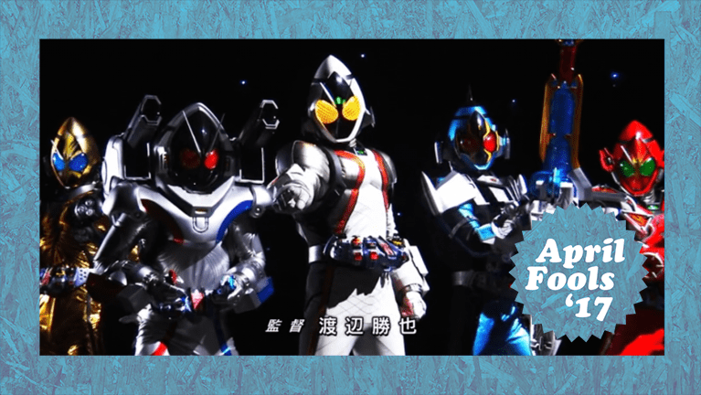 Kamen Rider Fourze Comes to the States