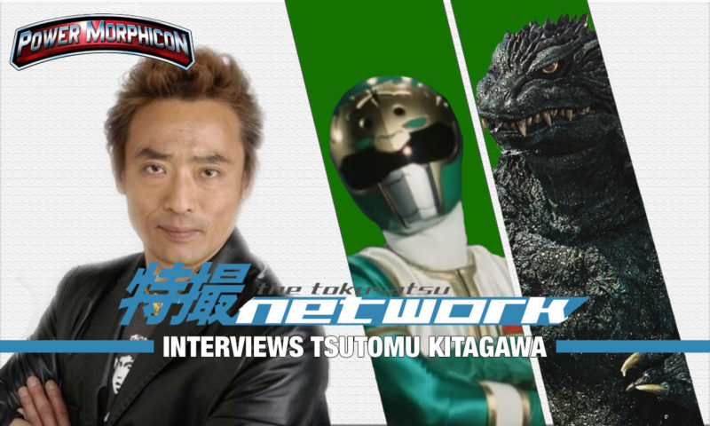 VIDEO: The Tokusatsu Network Interviews Tsutomu Kitagawa (Millenium Godzilla/Shishiranger)