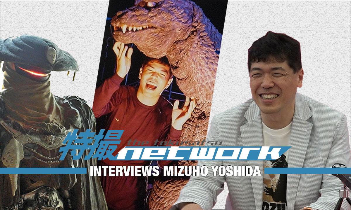 VIDEO: The Tokusatsu Network Interviews Mizuho Yoshida (Godzilla)