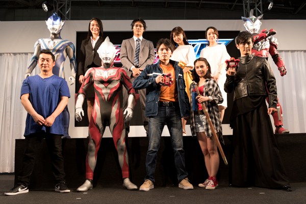 Ultraman Geed Cast Revealed at Production Announcement
