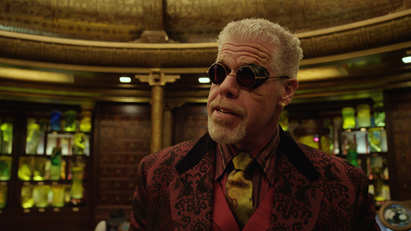"""RON PERLMAN as Hannibal Chau in the sci-fi action adventure """"Warner Bros. Pictures and Legendary Pictures movie PACIFIC RIM,"""" a Warner Bros. Pictures release. Photo Credit: COURTESY OF WARNER BROS. PICTURES"""