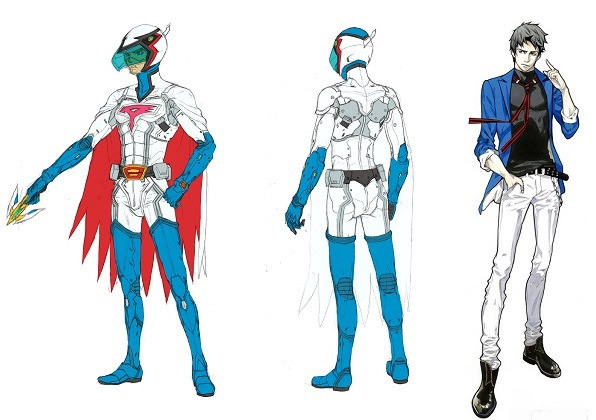 Character Design Los Angeles : Tatsunoko infini t force cg anime unveils new character