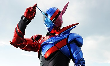 Kamen Rider Build to Push Classic Kamen Rider Elements