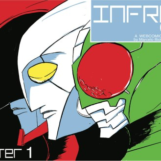 Cover Page for InfraCity: http://infracity.thecomicseries.com/comics/first
