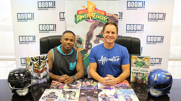 Mighty Morphin Power Rangers' David Yost and Walter Jones Join BOOM! Studios at New York Comic Con