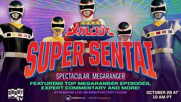 Shout! Factory Hosts Super Sentai Spectacular: Megaranger Livestream