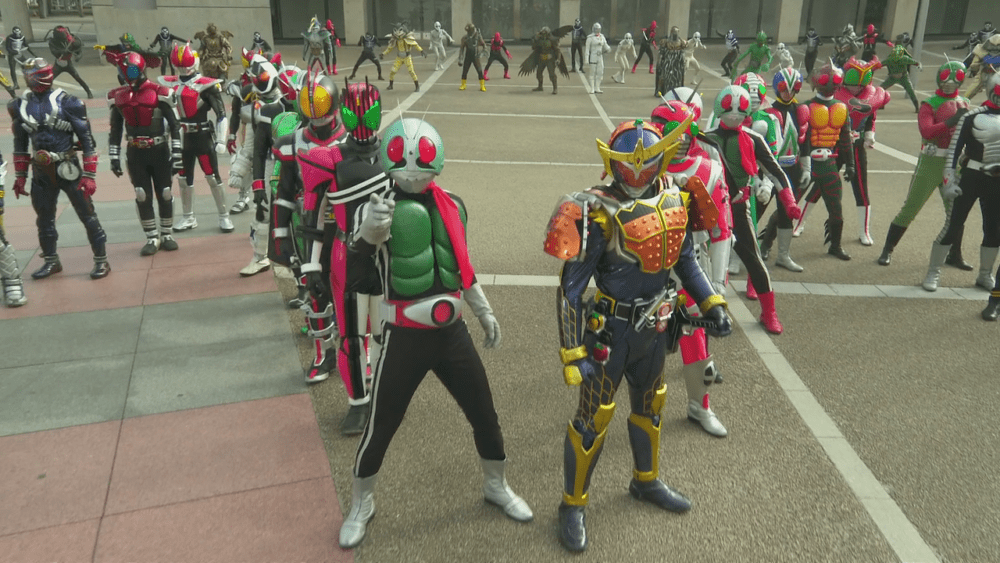 Toei's 2018 Kamen Rider & Super Sentai Movie Line Up