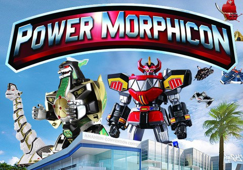 Power Morphicon to Celebrate Power Rangers' 25th Anniversary