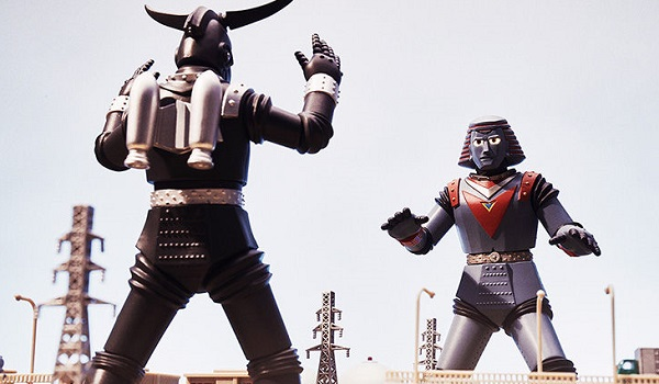Giant Robo Figurine Set Announced