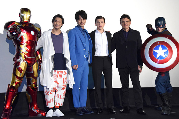 Kamen Rider Gaim's Gaku Sano Featured at Avenger: Infinity War Special Meeting