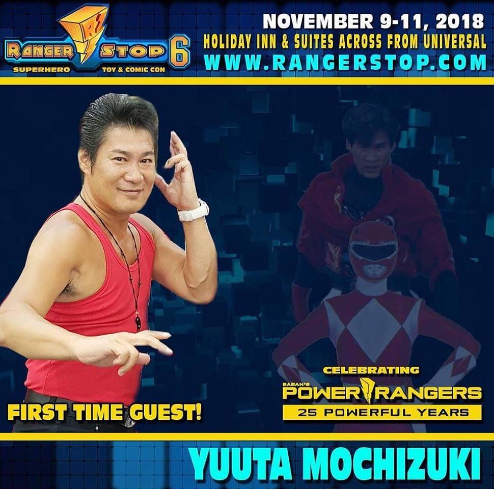 Zyuranger's Yūta Mochizuki & Reiko Chiba to Appear at Rangerstop 6