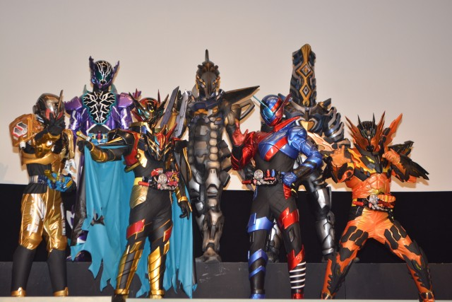 Staff and Cast Talk about Kamen Rider Build: Be the One Movie