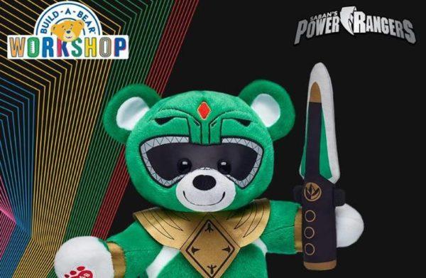 Green Power Ranger Bear Announced By Build-A-Bear