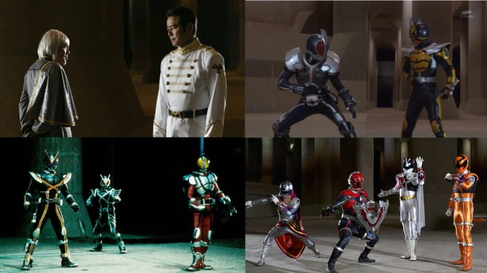 Ghost (21), Decade (16), Faiz (50) & Kyuranger (46)