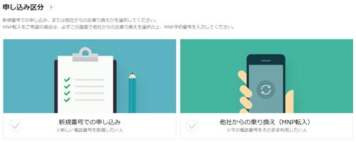 LINEモバイル 申し込み手続き5