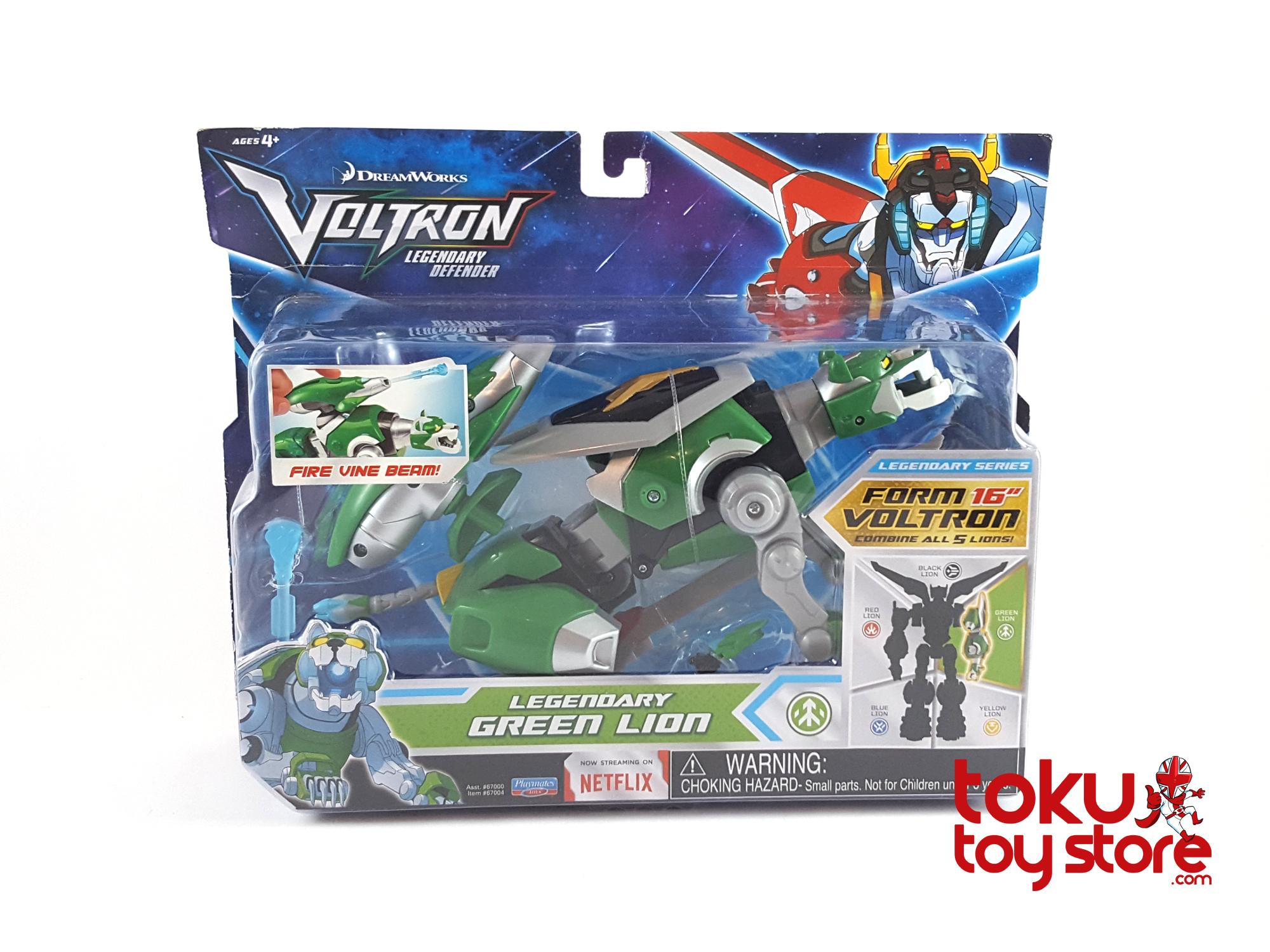 Voltron Legendary Green Lion Action- & Spielfiguren
