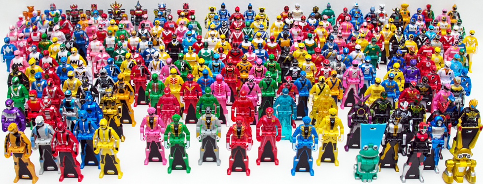 Ranger Key toyline