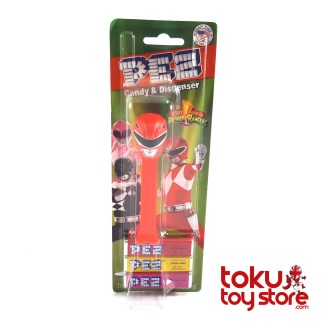 MMPR Red Ranger Pez (box)