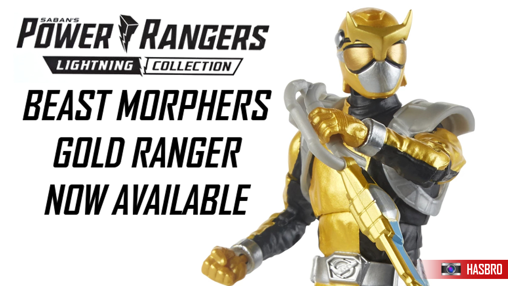 The Lightning Collection's Beast Morphers Gold is now available. Click here!.