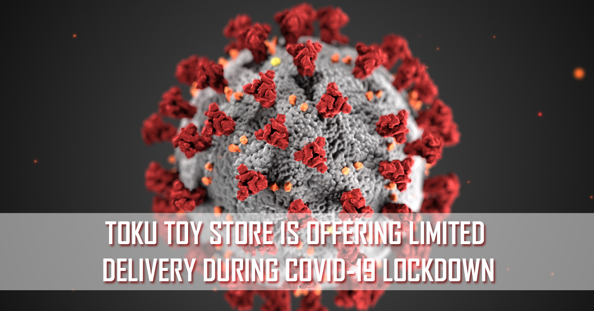 During the Covid-19 lockdown, Toku Toy Store is offering limited delivery to UK addresses. Click here for more info.