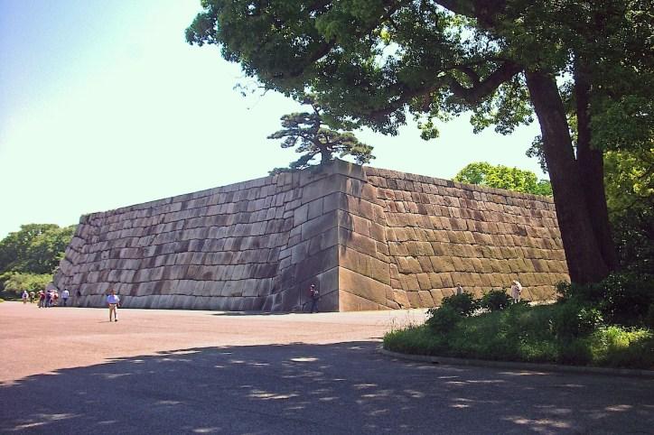 江戸城天守石垣