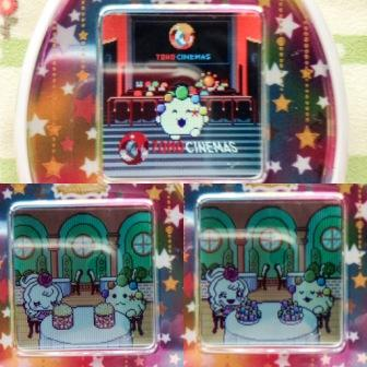 tamagotchi mix limited item downloads at the movie theater