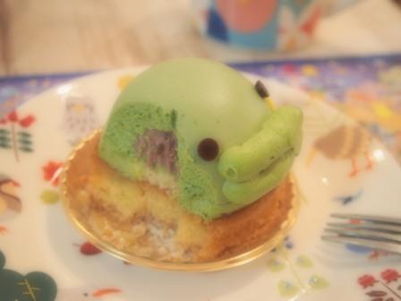 kuchipatchi cake at kotori cafe tamagotchi collaboration event 2017 Tokyo Japan
