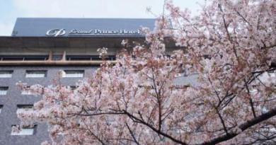 Cherry Blossom Viewing at Grand Prince Hotel Takanawa
