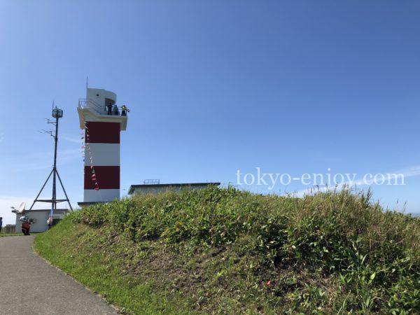 宗谷岬公園 宗谷岬灯台
