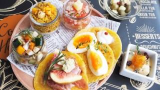 8月の美彩食クラスは「チーズのオイル漬け」