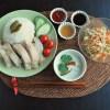 8月のお料理はシンガポールチキンライス☆
