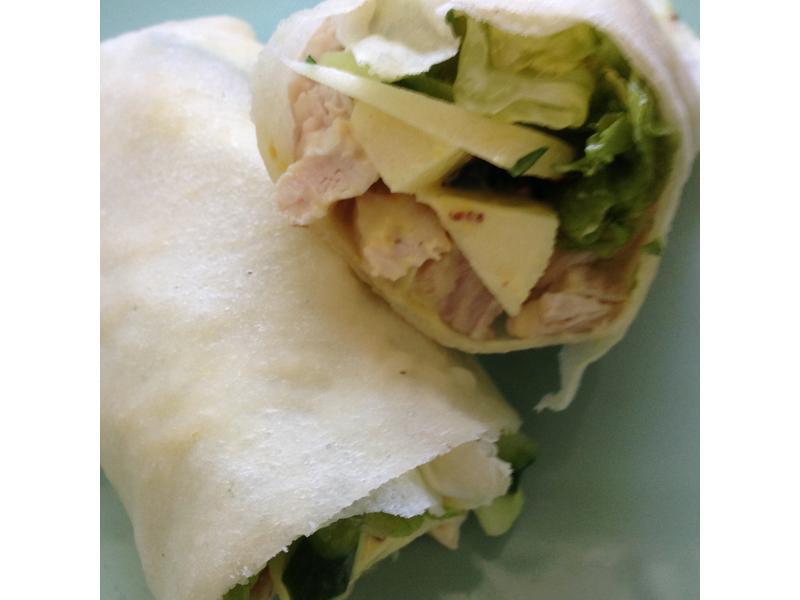 黃芥末籽醬雞肉捲 by 媽寶廚房 - 愛料理