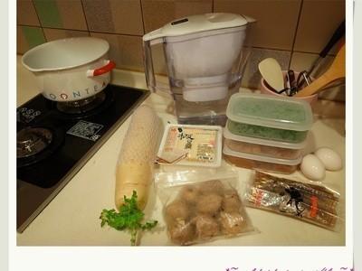 味噌貢丸蛋花湯 by apple - 愛料理