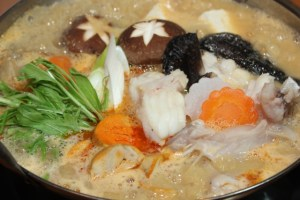 nabe winter japan food