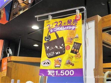 カルディ猫の日バック行列店舗