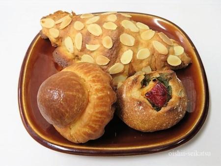 パリセヴェイユメニューおすすめパン