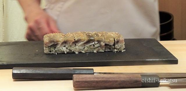 鮨つぼみ鰯の押し寿司