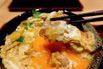 古代豚と軍鶏のスペシャルミックス丼に親子丼サンド@四谷