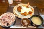 宮崎名物チキン南蛮にハンバーグのスペシャルランチ@赤坂