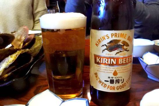 キリンビール!