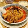 排骨担々麺(大辛)