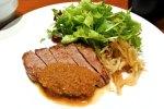 「やさいや」だけど、肉の日ランチはステーキ! @赤坂見附