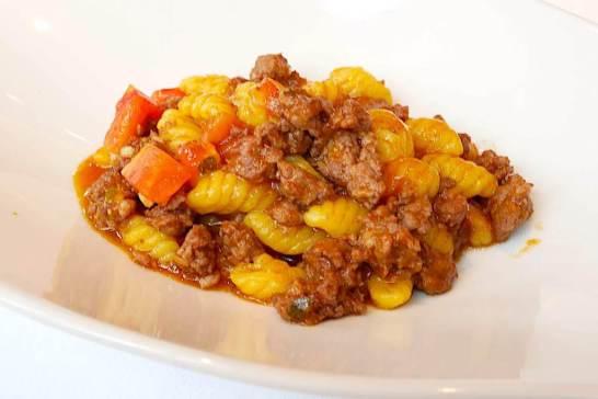 [自家製マッロレドゥス]カンピタネーゼ サルシッチャ肉のソース