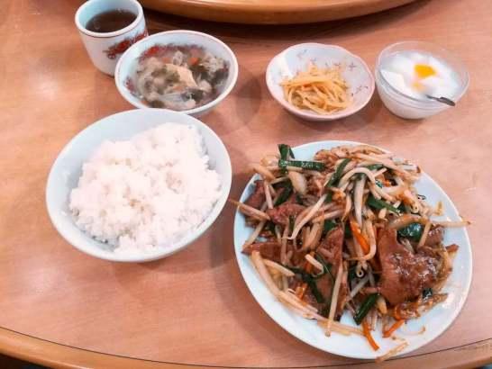 中華料理 慶賓樓のランチ