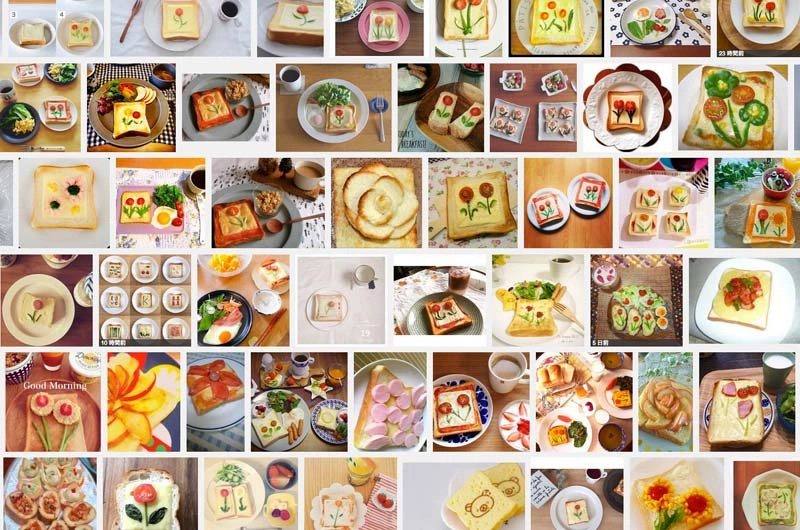 朝の食卓を鮮やかに飾る[お花トースト]インスタでも大人気のお花トーストの作り方は?