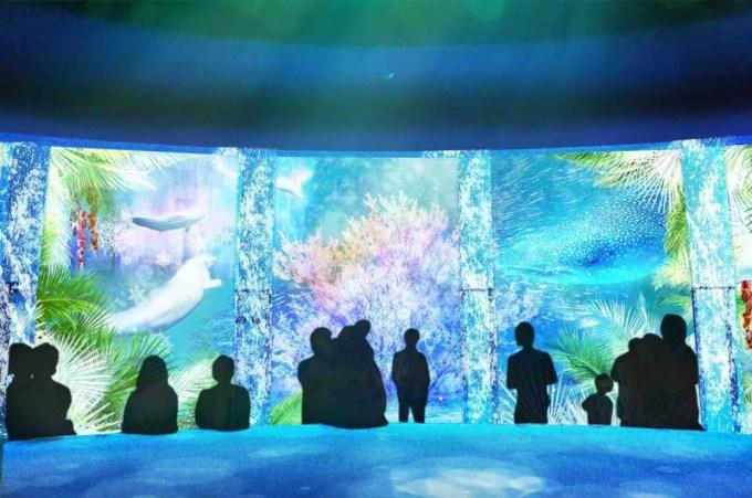 """八景島シーパラダイス冬のイベント""""楽園のアクアリウム"""" 始まる!シーパラの新体感型イルミネーション"""