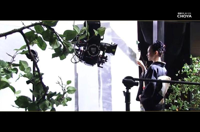 ウメッシュCM大人の梅酒本格篇〜着物姿も似合う大島優子!ウメッシュCM本編とメイキング映像