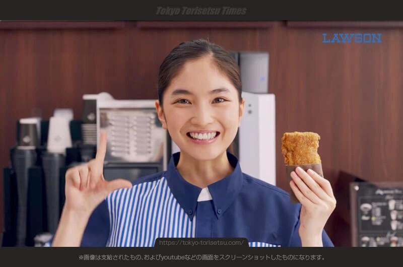 ローソンLチキ新CM軽快なLチキダンス店員さんの女優は誰?でかっ!うまっ!